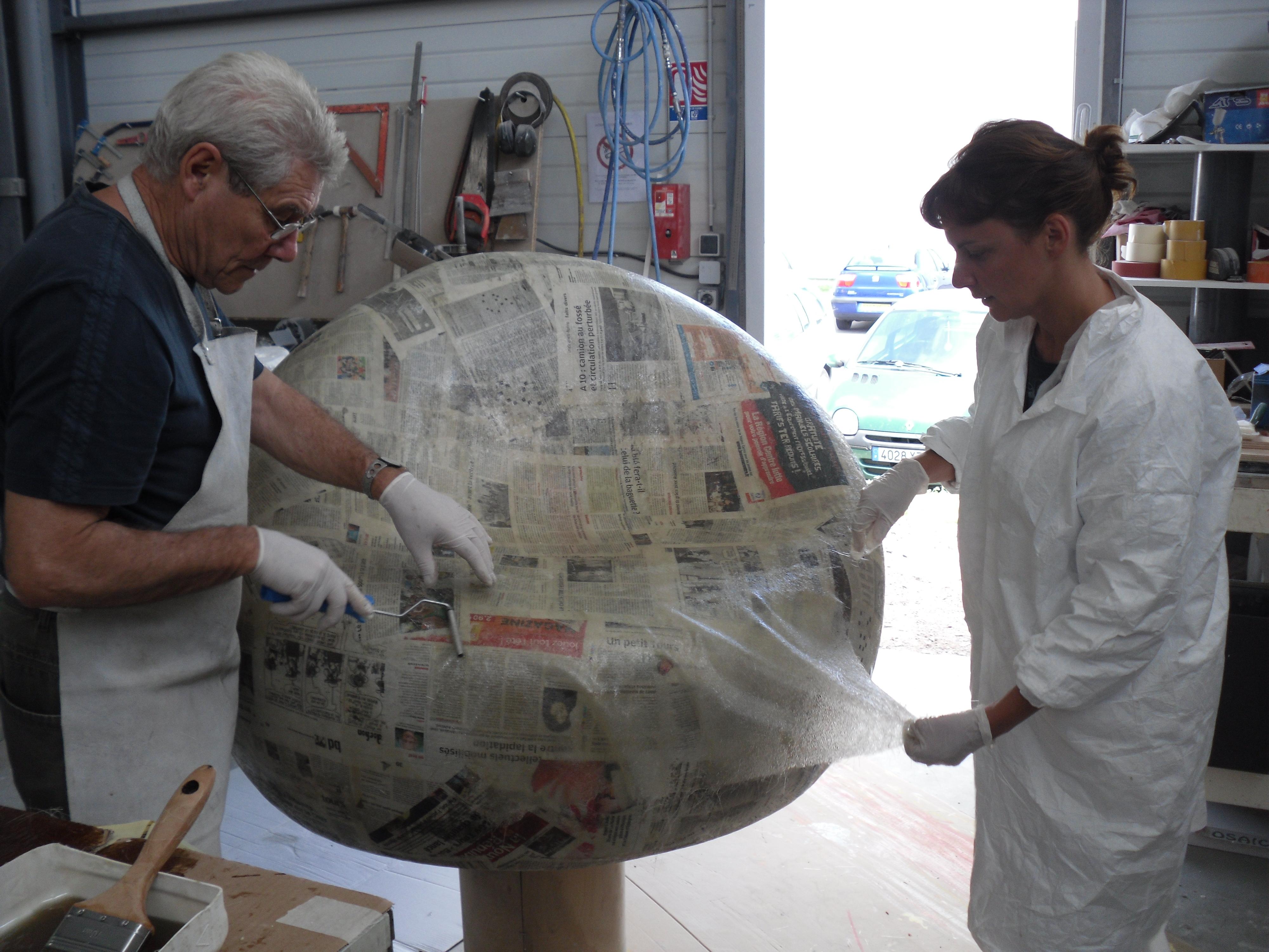 Laurence Dreanot sculptrice